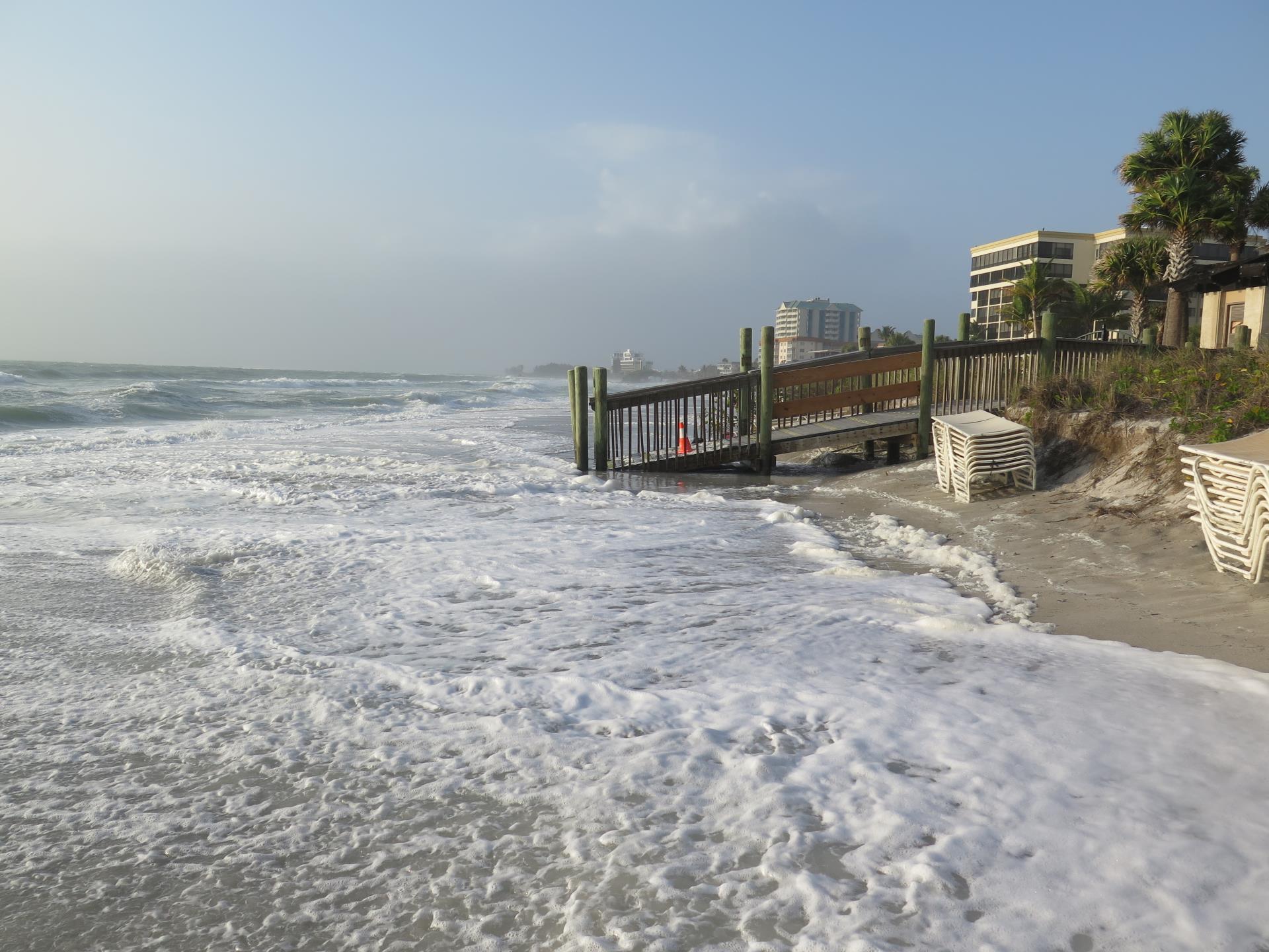 Lido Beach, Erosion