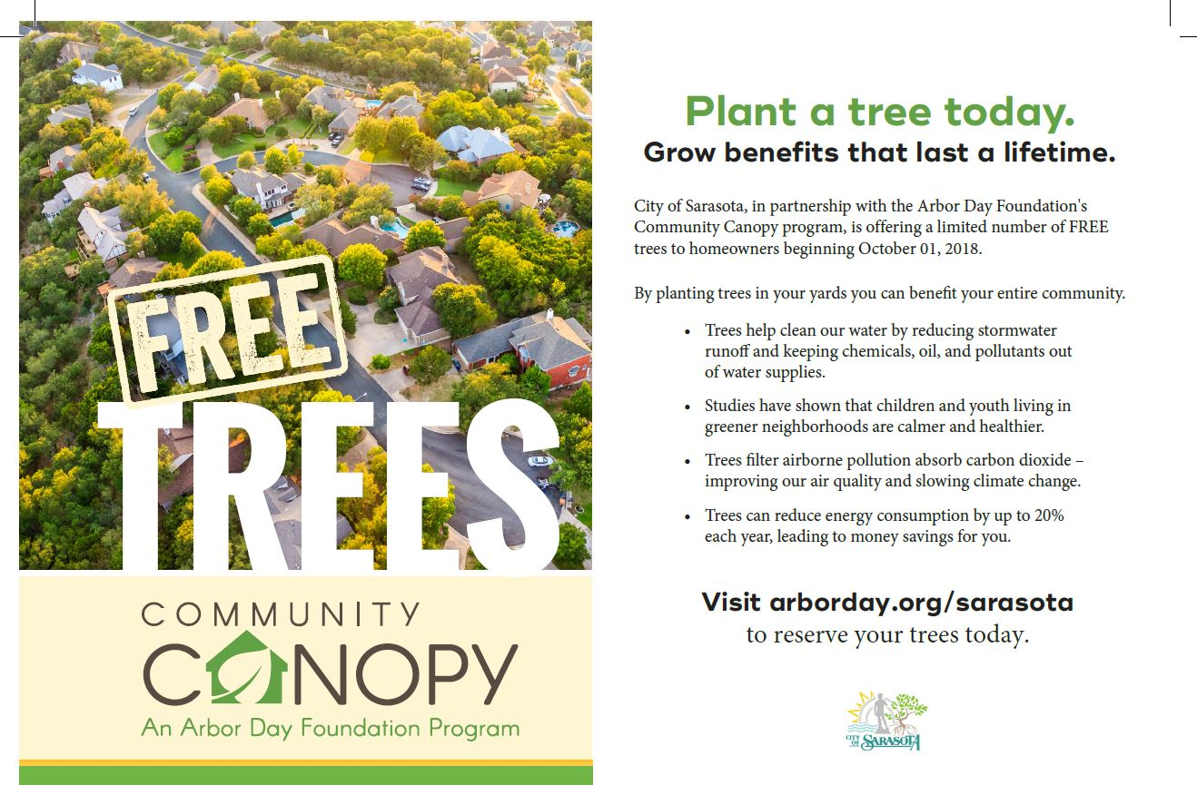 Community Canopy 2018 Flyer