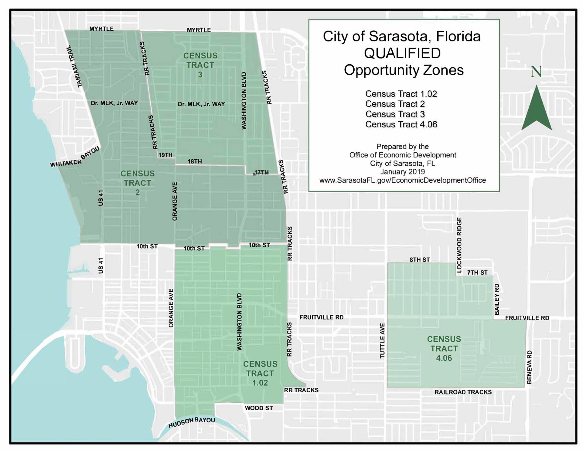 Four areas of City named 'Opportunity Zones' for investment ... on fort worth flood map, oldsmar flood map, san jose flood map, fort walton beach flood map, pensacola flood map, shreveport flood map, plano flood map, florida flood zone map, north palm beach flood map, greenville flood map, manatee flood map, stockton flood map, columbia flood map, venice flood map, hartford flood map, detroit flood map, fresno flood map, fort myers flood map, amarillo flood map, honolulu flood map,