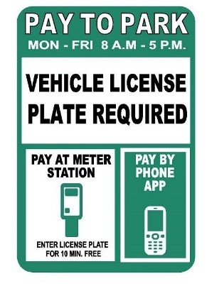 Pay to Park Graphic