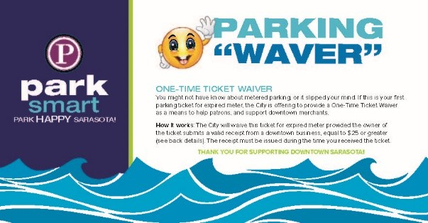 Park Smart Graphic Describing Parking WAVER