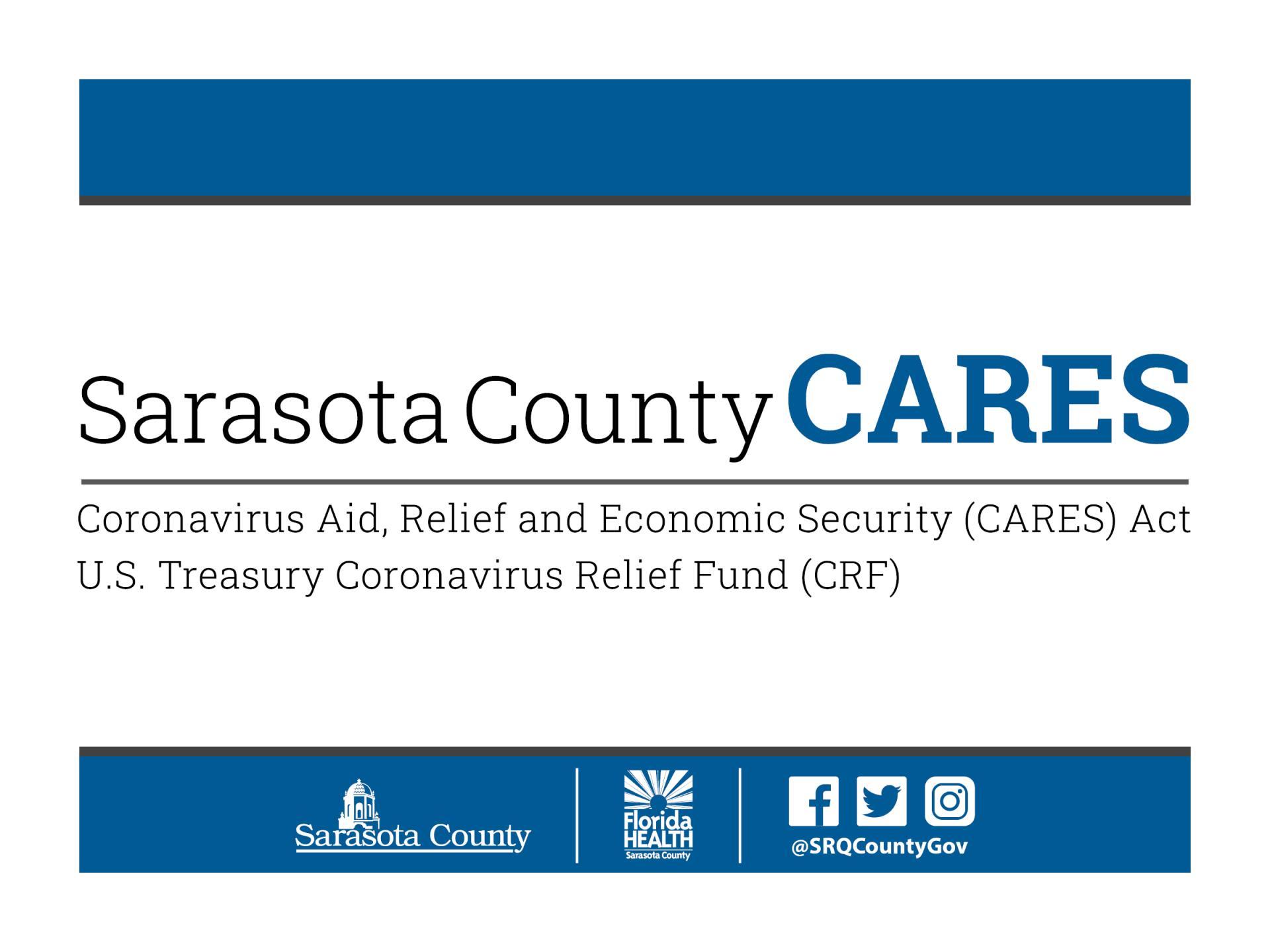 Sarasota County launches CARES Act Funds application process | News List |  City of Sarasota