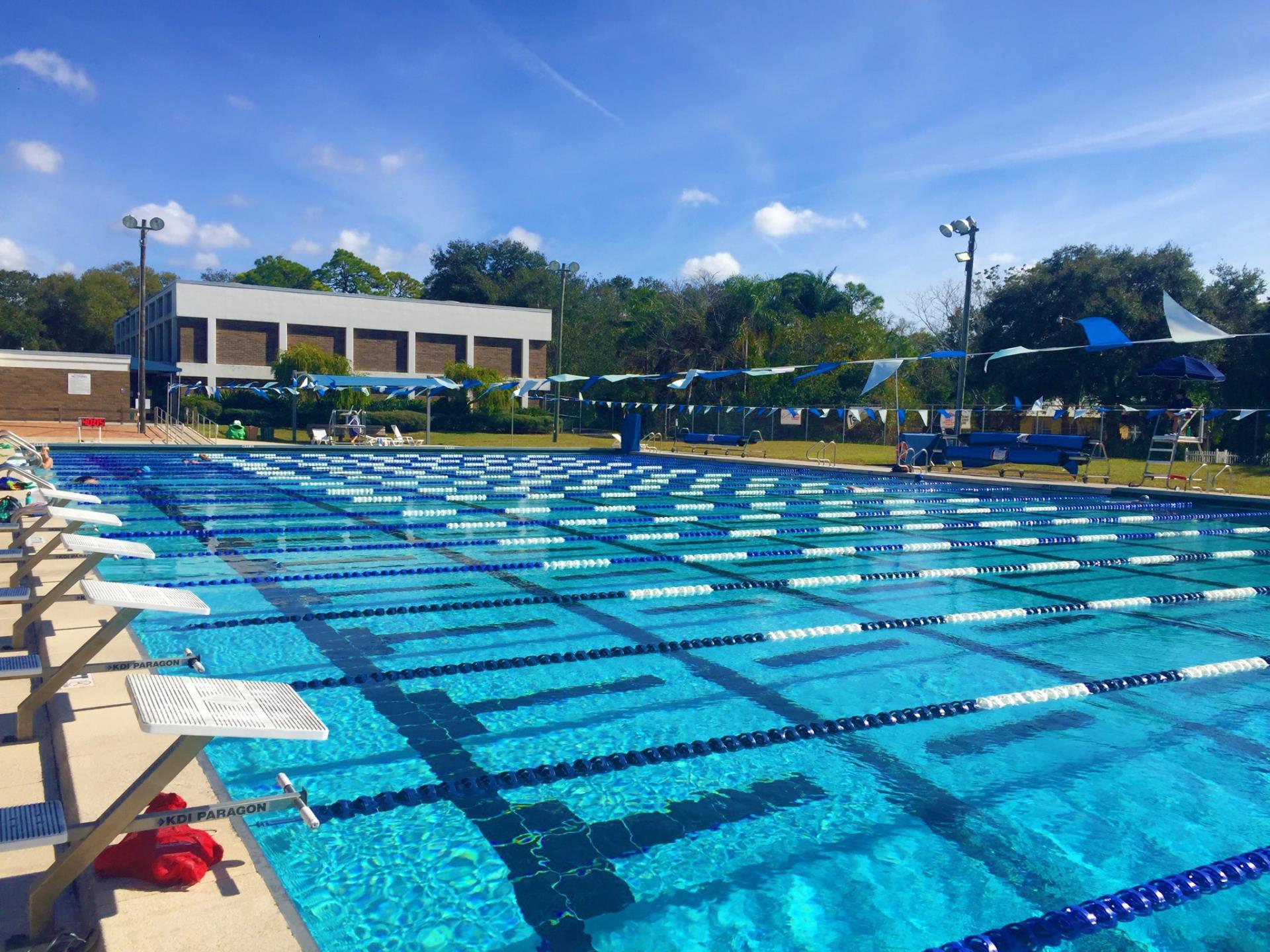 50 meter lap pool