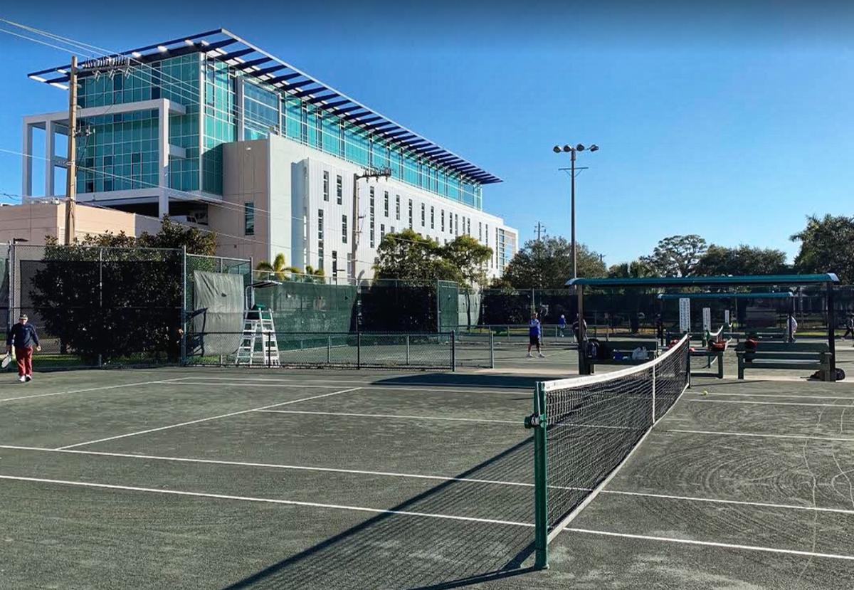 Payne Park - Tennis Court